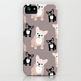 French Bulldog Puppies iPhone Case