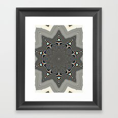 Full Om Mandala Framed Art Print