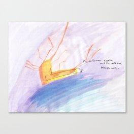 NEW COLOUR WORK Canvas Print