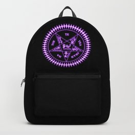Sebastian Michaelis Sigil Light (black bg) Backpack
