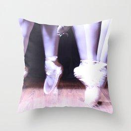 Pirouette Throw Pillow