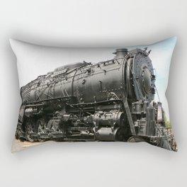 Steam Locomotive Number 5021 Sacramento Rectangular Pillow