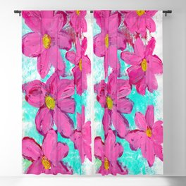 Oh the Blossoms Blackout Curtain