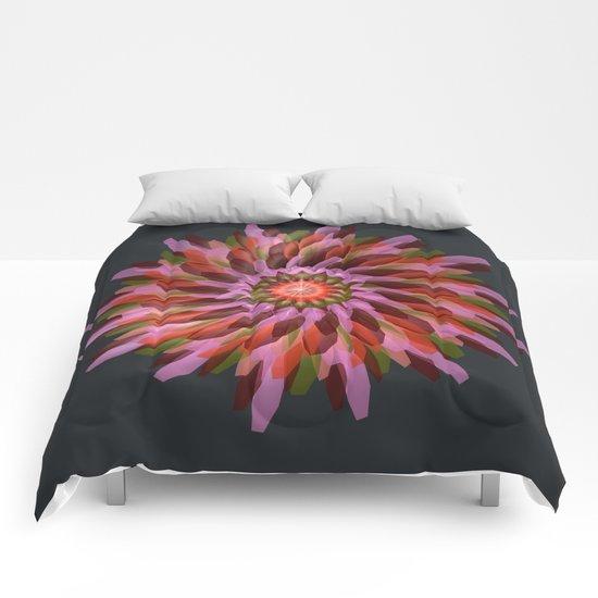 Falling Bloom Comforters