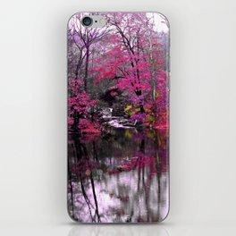 pink waterfall dreams  iPhone Skin