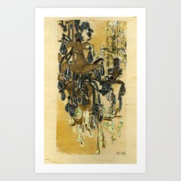 French Chandeliers Art Print