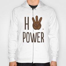 HiiiPower (w/text) : Chocolate Hoody