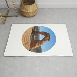 Moab Arches National Park Rug