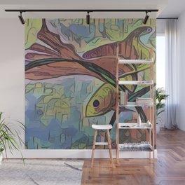 My Beautiful Goldfish Wall Mural