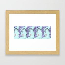 1, 2, 3, 4, 5 Framed Art Print