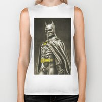 1989 Biker Tanks featuring BAT-MAN 1989 by Bungle