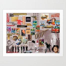 Ian Fleming Art Print