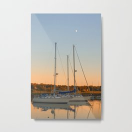 Sunset in Southport 2 Metal Print