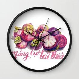 mangosteen Wall Clock