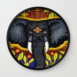 Intelligent Elephant Wall Clock