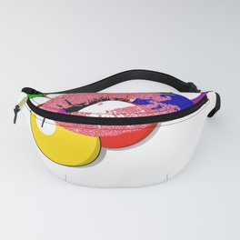 Kiss My Balls For Good Luck Pool Billiards Fanny Pack