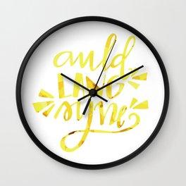 new years eve! Wall Clock