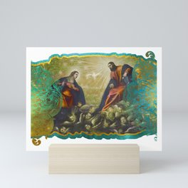 Paradise by Tintoretto (by ACCI) Mini Art Print