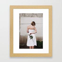 Beauty in Brokenness Framed Art Print