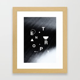 Entropy Magazine cover Framed Art Print