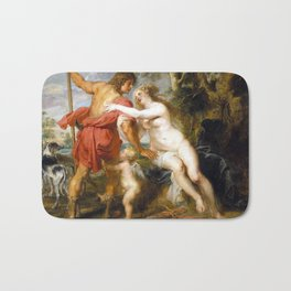 Peter Paul Rubens Venus and Adonis Bath Mat