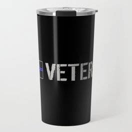 Canadian Police Veteran Travel Mug