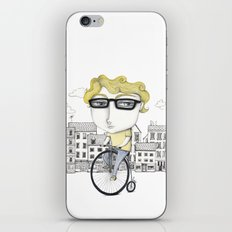 Biking iPhone & iPod Skin