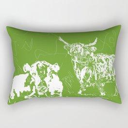 Optimist and pessimist! Rectangular Pillow