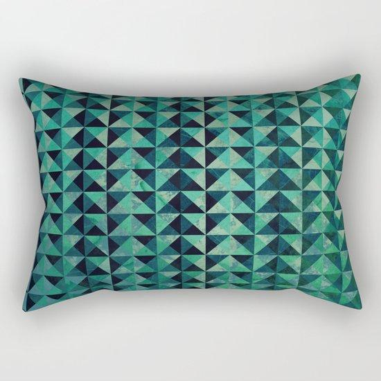 Triangulation Rectangular Pillow
