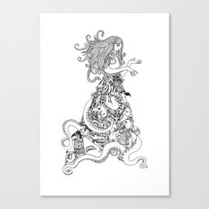 Animal Dress Canvas Print