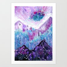 a place yet to explore Art Print