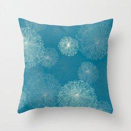 Spider Chrysanthemums Throw Pillow