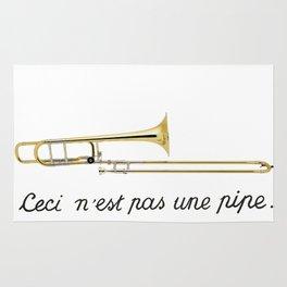 Trombone Surrealism Rug