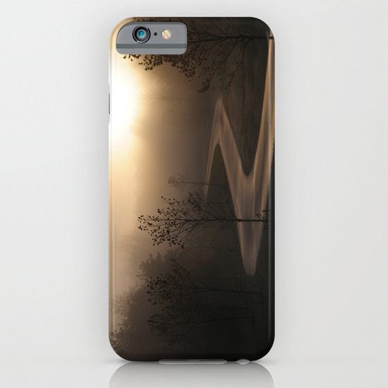 The long and winding misty and moody road iPhone & iPod Case