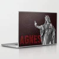 agnes Laptop & iPad Skins featuring Agnes by Kelly Kistler