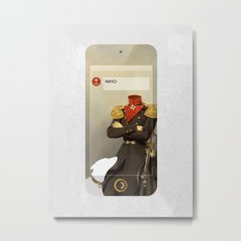 IMHO (MetaPhone) Metal Print