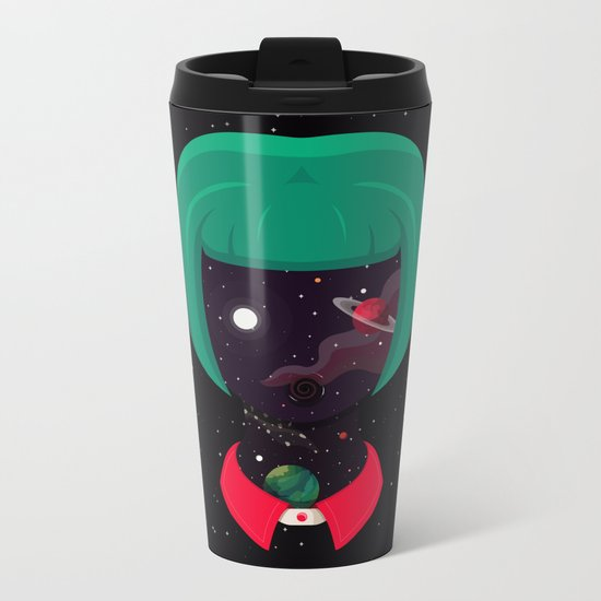 Cosmo Girl Metal Travel Mug