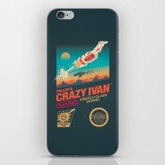 Crazy Ivan iPhone & iPod Skin