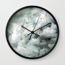 You must not blame me if I do talk to the clouds Wall Clock