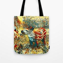 AnimalArt_Tapir_201901_by_JAMColors Tote Bag