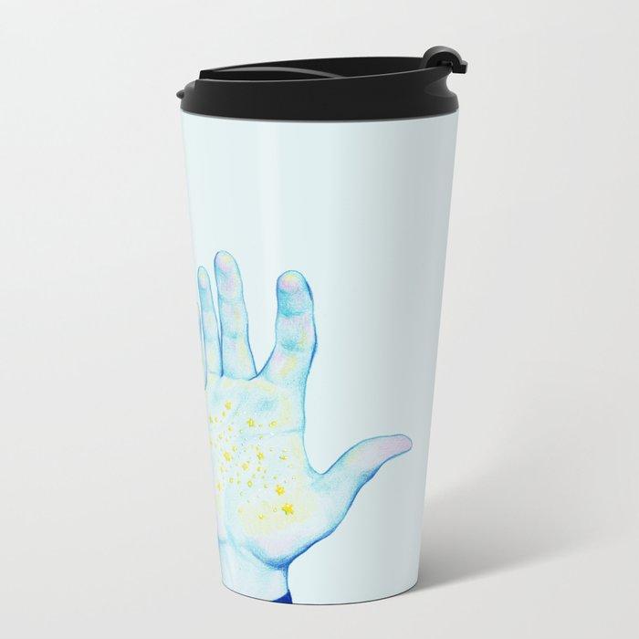 Stars III Metal Travel Mug