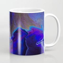 Dark Purple Blue Galaxy - Midnight Shades Coffee Mug
