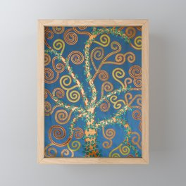 """Family Tree (i)"" by ICA PAVON Framed Mini Art Print"