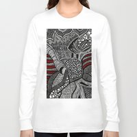wave Long Sleeve T-shirts featuring Wave by Lauren Moore