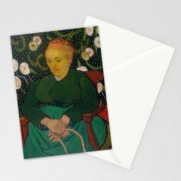 Vincent van Gogh - La Berceuse (Woman Rocking a Cradle; Augustine-Alix Pellicot Roulin, 1851–1930) Stationery Cards