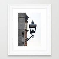 lantern Framed Art Prints featuring Lantern by Marieken