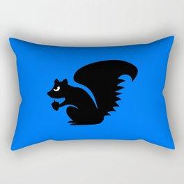 Angry Animals: Squirrel Rectangular Pillow