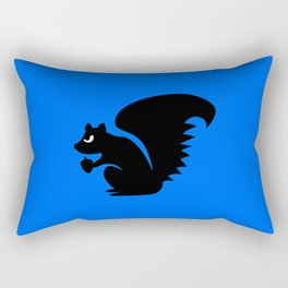 Angry Animals: Squirrel Rectangular Pillow