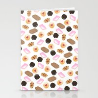 cookies Stationery Cards featuring Cookies! by Sylvia Morris