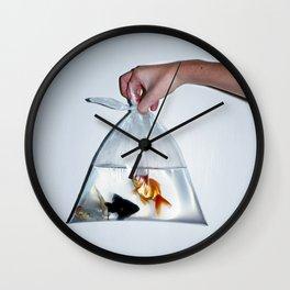 Fish. Wall Clock